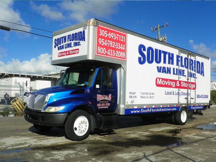 Moving Company Miami - South Florida Van Lines, Familiy Owned Moving Company - Local Moving, Long Distance Moving, Furniture Moving 305-912-2338