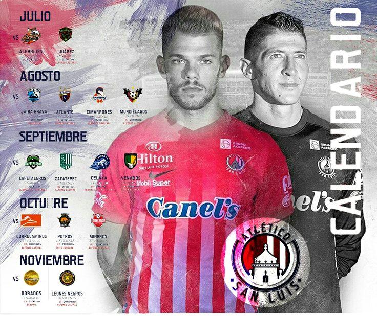 San Luis Potosi, Calendario Apertura 2017