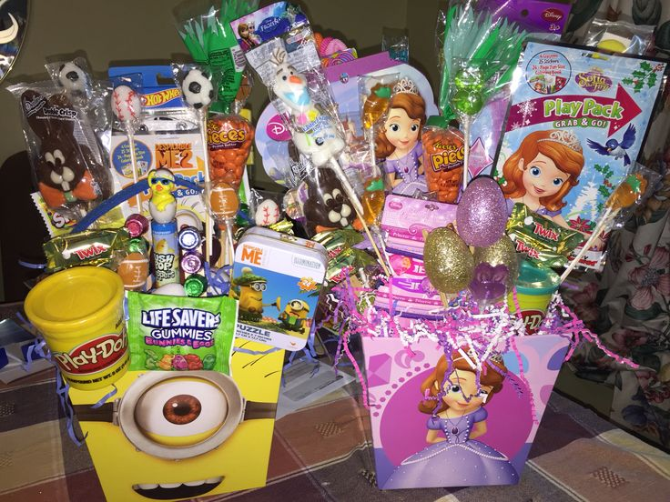 46 best gift basket images on pinterest minion and sophia the first easter baskets i made i make these every year for negle Image collections