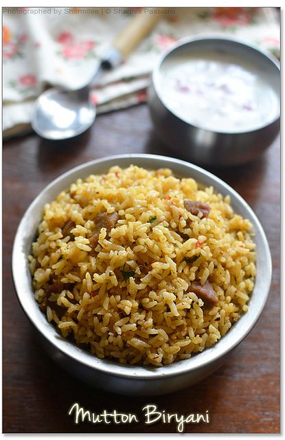 Lamb Biryani with rice - Step by Step Recipe