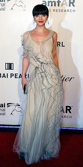 Christina Ricci wearing Marc Jacobs