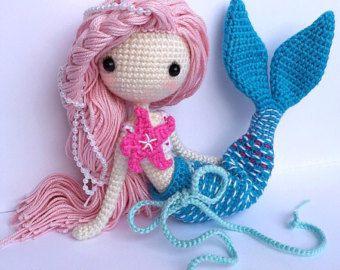 Crochet Doll Pattern Jill 洁儿 by LydiawlcMW on Etsy