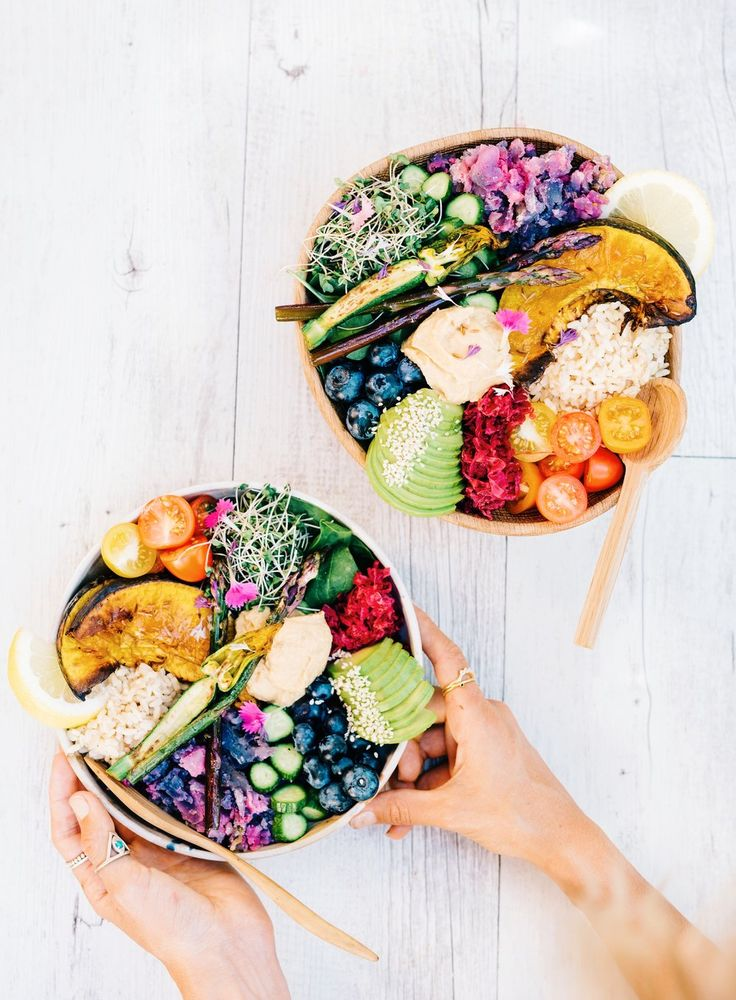 Have a healthy start to the new year with a Rainbow Buddha Bowl by Elsa's Wholesome Life.