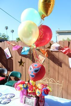 Mexican Lucha Libre / Birthday LUCHA LIBRE!!!   Catch My Party