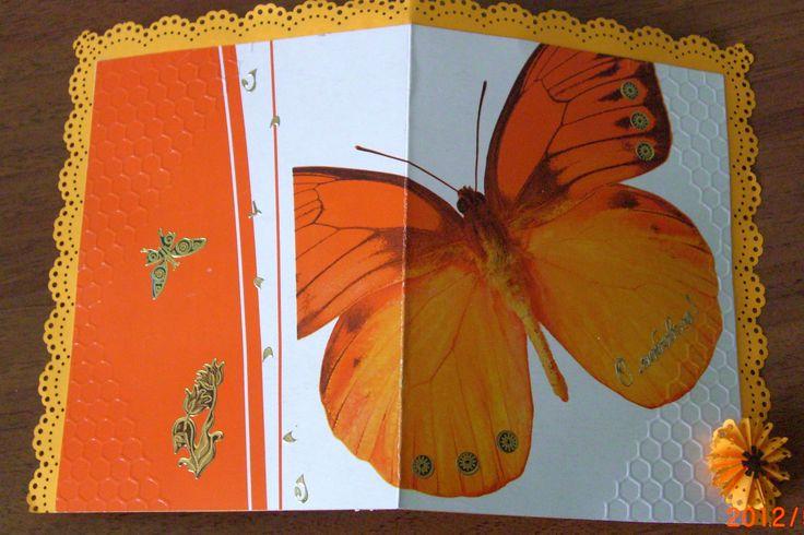Моя работа - открытка для коллеги и друга, 2012 г.