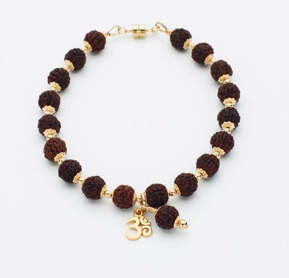Vedic Power Rudraksha Wrist Mala Bracelet Rudraksha Jewelry