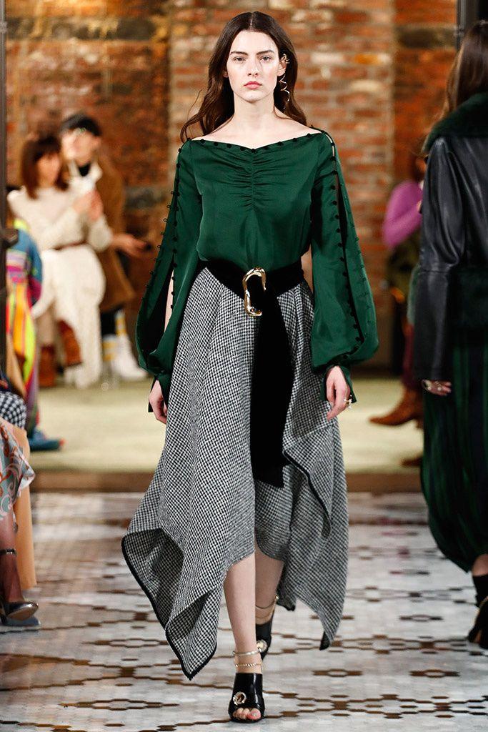 мода осень 2018 одежда женская повседневная фото