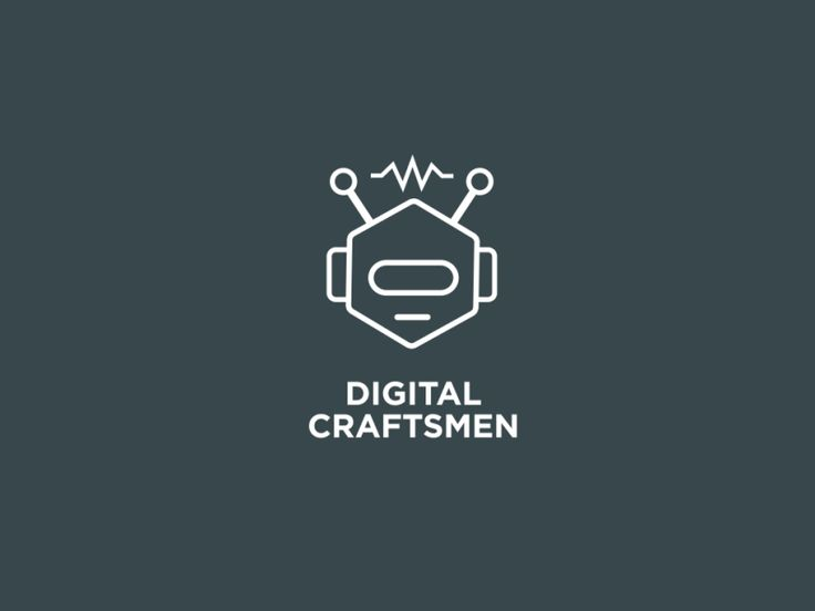 Earlier this year I made a robot logo for Digital Craftsmen. The talented illustrator @Dries Van Broeck turned it in to an amazing animation.  Make sure you check out the attached non-animated vers...