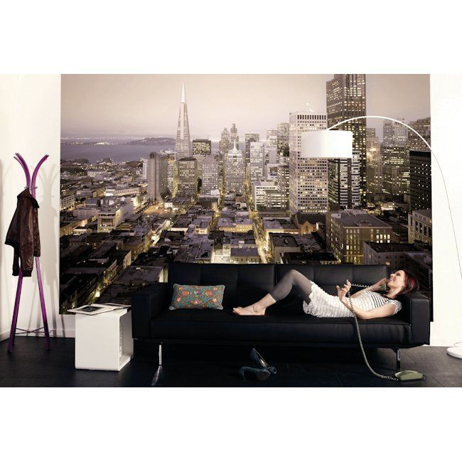 Urban Room Wall Mural, 368cm x 254cm high from wallpapershop