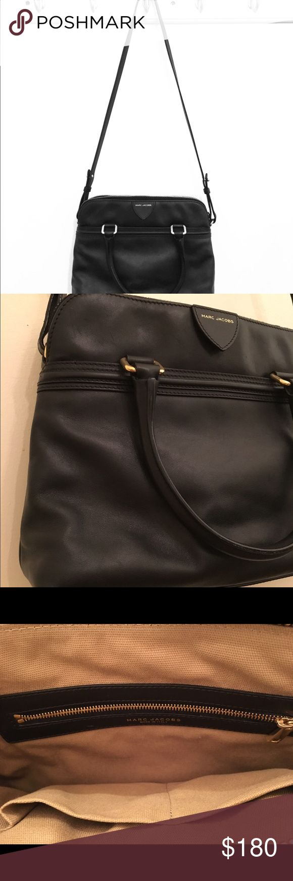 Marc Jacobs Collection Shoulder Bag Nearly-new Marc Jacobs Collection bag. Bought it at Nordstrom on sale a couple of years ago. Fits tablets, most books (minus textbooks), or a very small laptop (not the 13 in MacBook). Light and durable leather Marc Jacobs Bags Shoulder Bags
