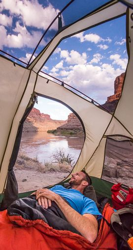 Better than any hotel. Canyonlands National Park, Utah.