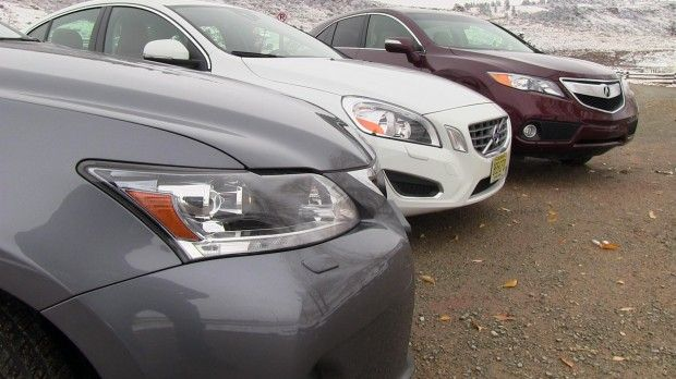 #2013 #Acura #RDX vs #Lexus #CT #200h vs #Volvo #S60 #T5 Affordable #Luxury 0-60 MPH #Mashup Review by #tflcar