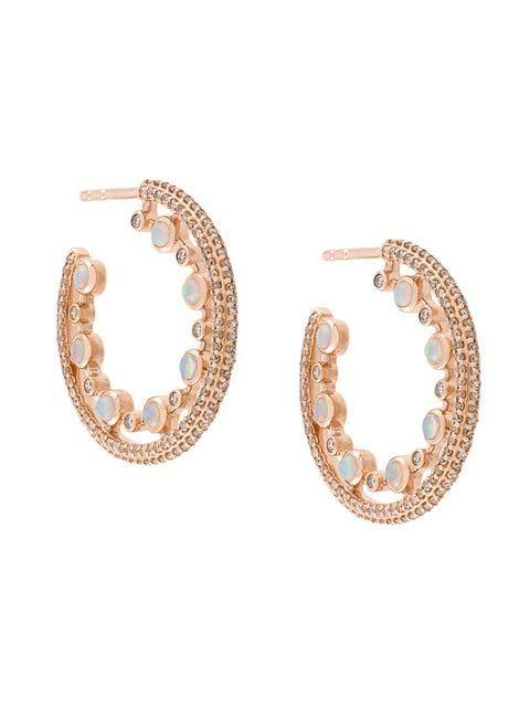 b070dd310cc38 Astley Clarke Icon Nova Opal Hoops in 2019 | jewelry灵感 | Astley ...