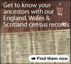 England, Wales and Scotland census records