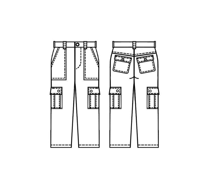 Pantalon  - Patrons de couture #5066 Les patrons de couture Lekala faits sur mesure a télécharger gratuitement.