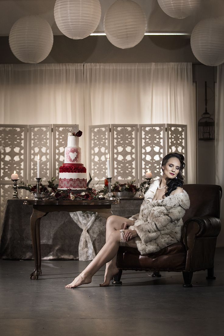Styled shoot - Winter, vintage, scull theme at Oak House venue, in Cullinan