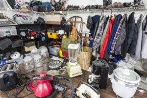 How-To: Using Your Self Storage Unit to Prepare for a Yard Sale