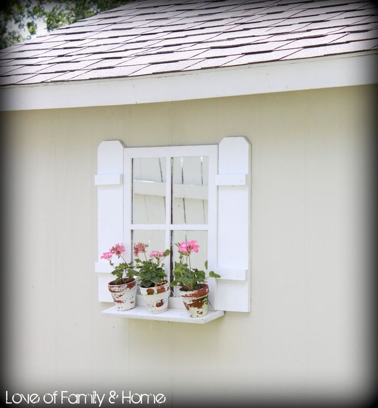 Easy Diy Shutters For The Shed Love Of Family Amp Home