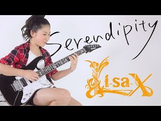 """Li-sa-X: """"Yankee Doodle"""" variation from DEBUT EP I will release the DEBUT EP on March 8 2017 And """"Yankee Doodle"""" unveils digitally on February 22 2017! I really appreciate your cheering!! (The details are as follows Please share it!!) Li-sa-X debut mini albumSerendipity 01.Serendipity (written by: Li-sa-X) 02.Scarified feat. Paul Gilbert (Written by: J.Alderete / B.Bouillet / P.Gilbert / J.Martin / M.Travis) Original: Racer X song 03. CHA-LA HEAD-CHA-LA feat. Polyphia (Written by: Chiho…"""