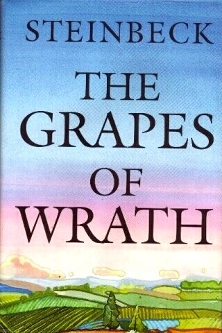 the theme of a journey in the grapes of wrath by john steinbeck Religion in the grapes of wrath  journey, and the promised  important symbols in the grapes of wrath  john steinbeck's the grapes of wrath:.