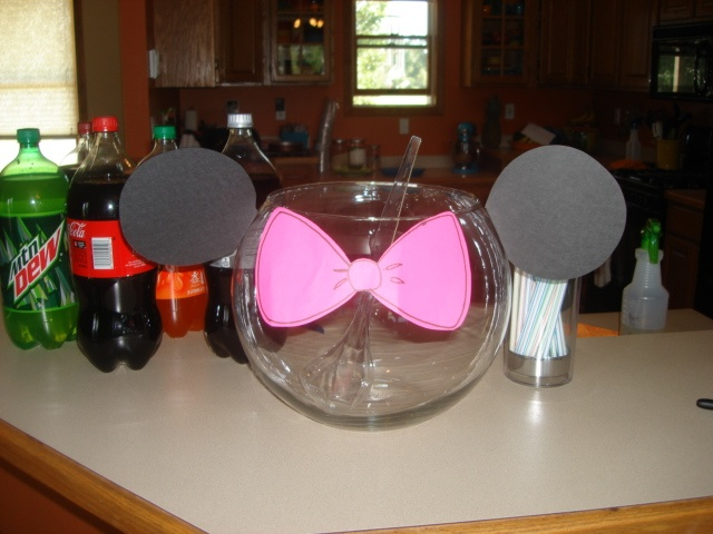 Minnie Mouse Punch Bowl