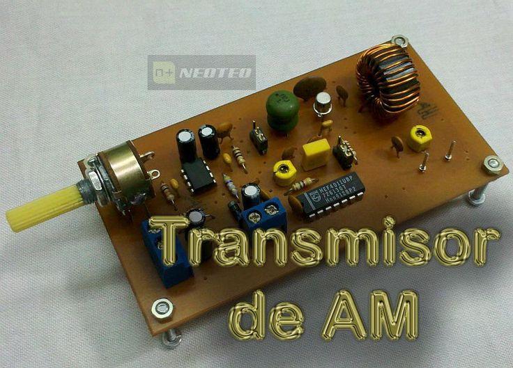 Transmisor de Amplitud Modulada - Neoteo