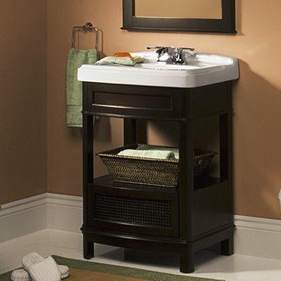 American Standard Generations Washstand And Pedestal Top Sink Vanity Set Wayfair 665