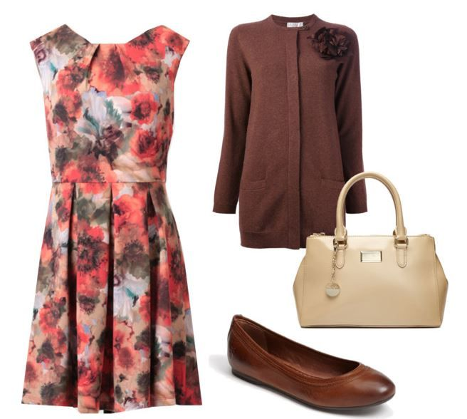 What to Wear to a Fall Wedding outdoor wedding idea
