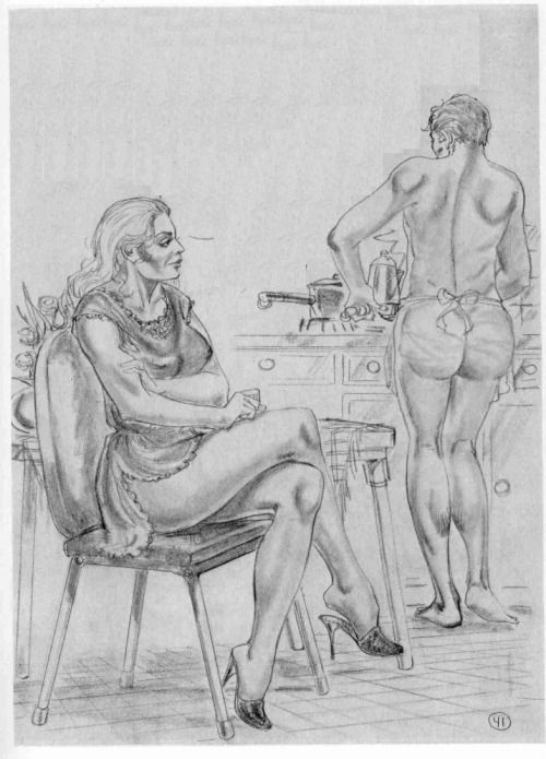 Bdsm artwork disciplinary wife submissive husband