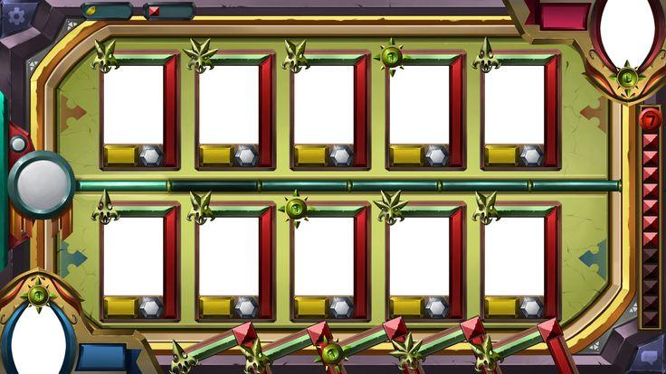 이집트풍 카드게임 GUI