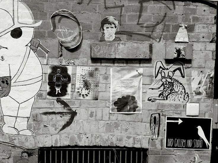 Laneway street art. 181 George Street, Brisbane.