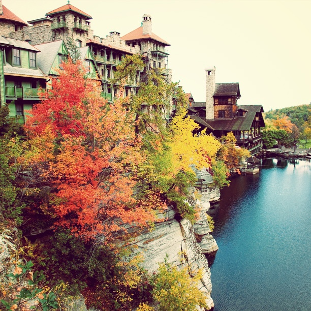 Mohonk Mountain House, New Paltz, NY  Mohonk during the fall and the lake  Jim Smith Photography