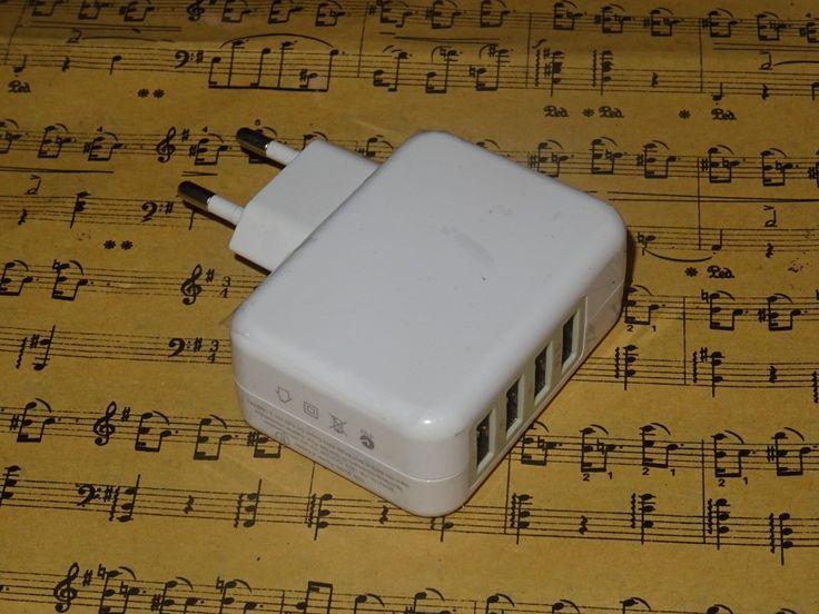 Poze Adaptor Priza USB X 4 Porturi  3.1A