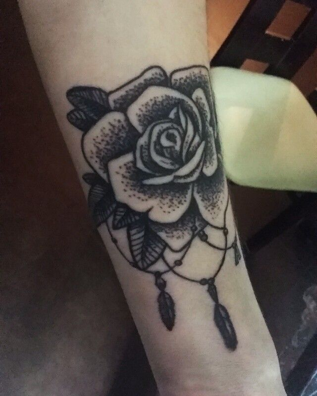 Rose #tattoo dotwork:) #dotwork #dotworktattoo #rosestattoo #tattoos #tatts #tatuaż #art #artist #artisttattoo #tattooroses #roses #drawingtattoo #draw