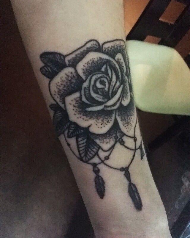 Rose #tattoo dotwork:) #dotwork #dotworktattoo #rosestattoo #tattoos #tatts #tatuaż #art #artist #artisttattoo #tattooroses #roses #drawingtattoo #draw