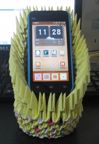 3D Origami - Smartphone Stand