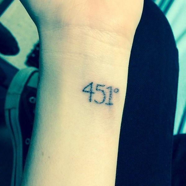 451 tattoo
