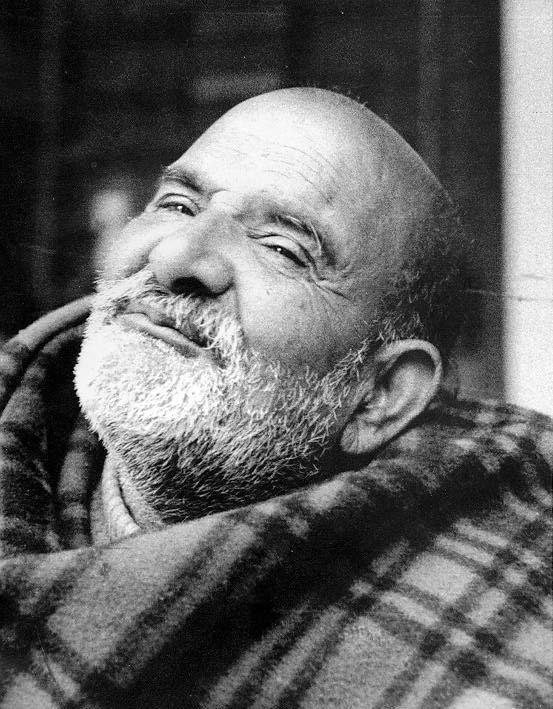 Neem Karoli Baba - I never met Neem Karoli Baba, but I have heard Ram Dass tell so many stories about him.
