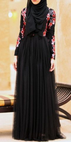 Stunning Modest long sleeve tulle gown with sequin top   Mode-sty tznius hijab fashion style muslim eid dress muslim mormon jewish christian lds islamic