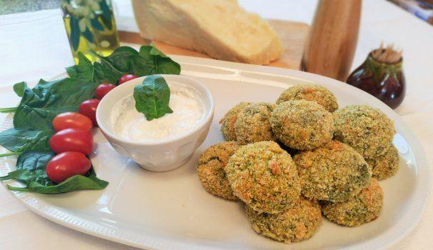 Polpette di spinaci e ricotta | Spinach and cheese meatballs, recipe