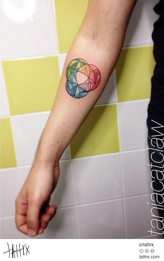 Tania Catclaw Tatuagem Aquarela | Lisbon Portugal