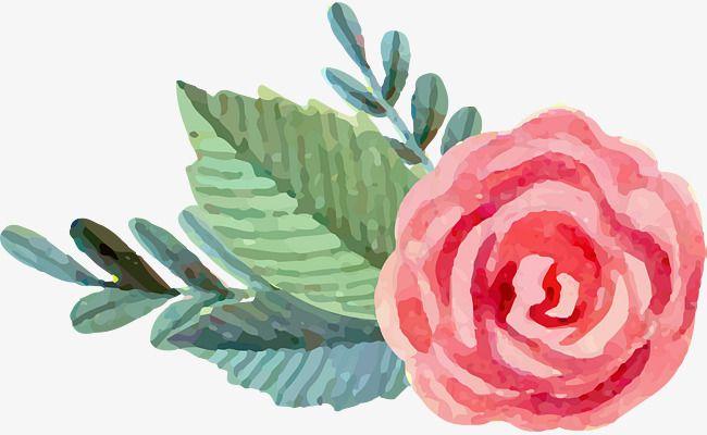 Watercolorrosepinkflowerdecoratecartoon hand drawingpink watercolorrosepinkflowerdecoratecartoon hand drawingpink vector mightylinksfo