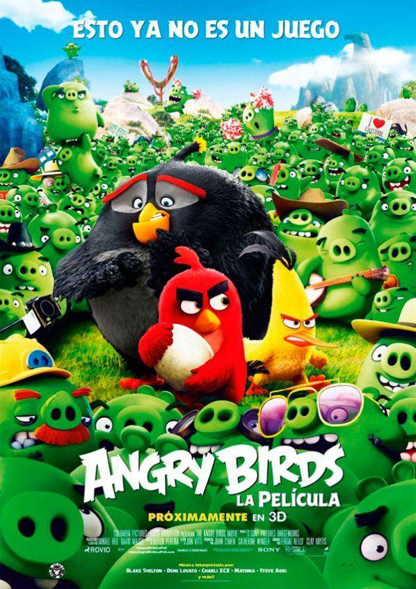 Angry Birds La Pelicula Pelicula Sinopsis Angry Birds Coole Animationen Animationsfilme