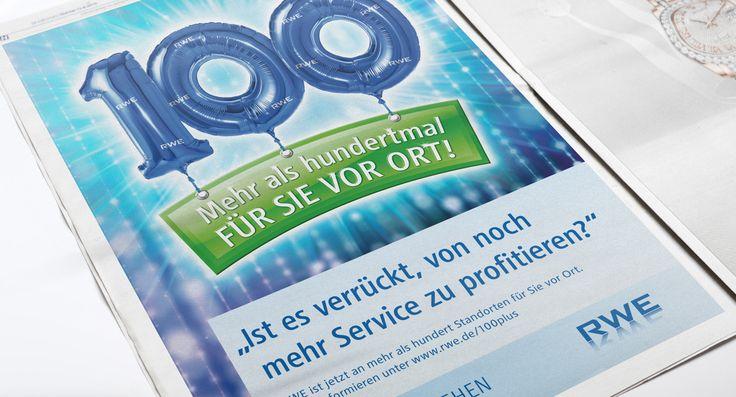 RWE Vertrieb AG - Printkampagne