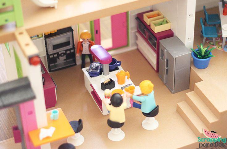 Les 483 meilleures images du tableau playmobil my love sur for Playmobil modern house 7337