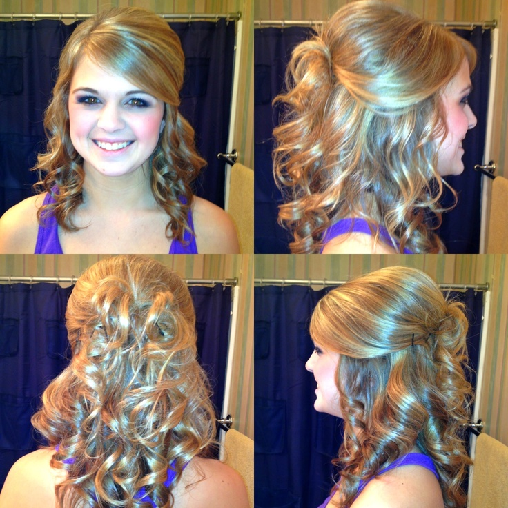 Cute Hairstyles For Prom Updos : 117 best images about hair on pinterest