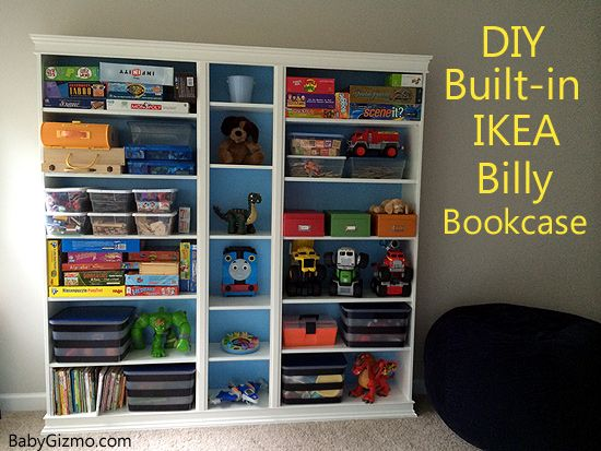Diy Ikea Playroom Built In Billy Bookcase Baby Gizmo Blog