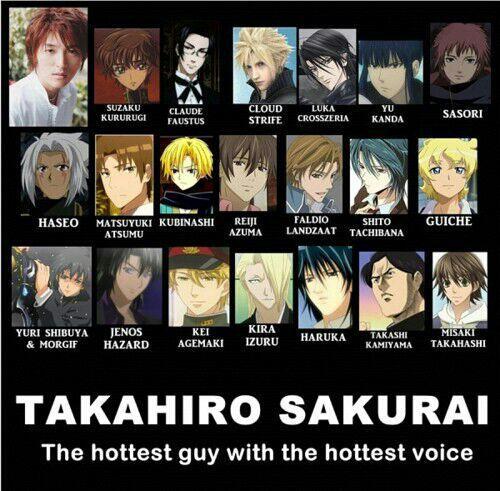 Seiyuu - Takahiro Sakurai