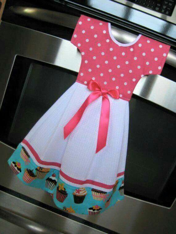 Tea towel dress