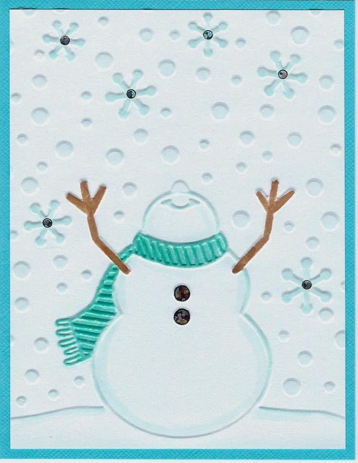 Cora Jean's Paper Playtime: Let it snow